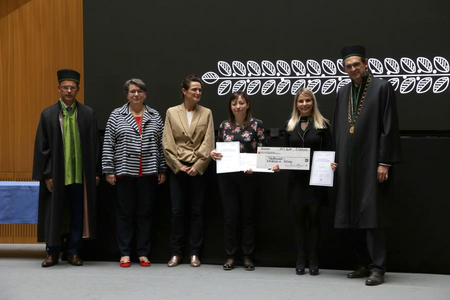 Dies academicus 2019: Award for outstanding research achievements at unibz